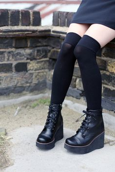 Wedges Finally Back in Stock !  https://marketplace.asos.com/listing/boots/platform-wedge-boots/464036