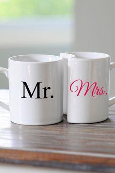 Mr. & Mrs. Mugs.