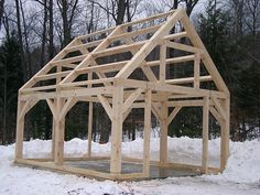 Timber Frame Shed