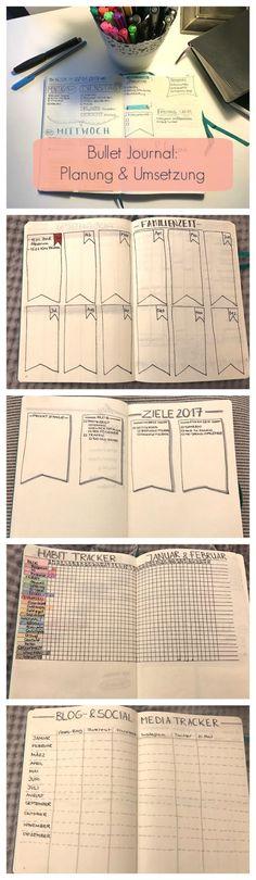 Bullet Journal - Idee, & Layout für Anfänger