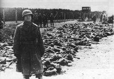 Les soldats américains libèrent le camp de Dachau le 29 avril 1945.