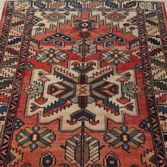 Products – Maison Eleven Vintage Pomegranate Persian Rug