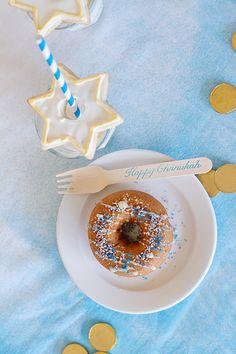 A fun and festive Hanukkah dessert idea.