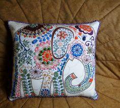 diy beaded pillow - Google Search