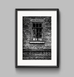 Broken window a Manchester black and white by PGroganPhotography