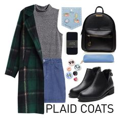 """""""Untitled #94"""" by roxeyturner ❤ liked on Polyvore featuring H&M, J.Crew, Bing Bang and Smythson"""