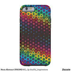 Neon Abstract IPHONE 6 CASE