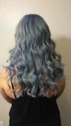 Opal hair grey hair pink hair purple hair pastel hair grey hair