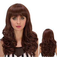 GET $50 NOW | Join RoseGal: Get YOUR $50 NOW!http://www.rosegal.com/synthetic-wigs/long-neat-bang-fluffy-wavy-728537.html?seid=2275071rg728537