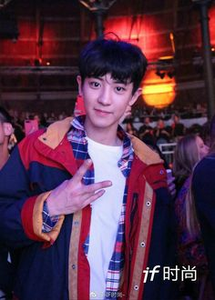 170919 CHANYEOL @ LFW (TOMMY HILFIGER SHOW)