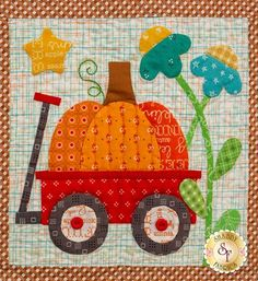 Autumn Love Quilt Kit - Sew Along by Lori Holt Quilting Projects, Quilting Designs, Sewing Projects, Quilting Ideas, Sewing Crafts, Machine Embroidery Applique, Applique Quilts, Small Quilts, Mini Quilts