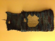 Knitted iPhone pouch