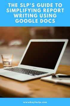Did you know Google Docs can save SLPs SO MUCH time when writing reports? Here are 3 tips for making report writing as quick, simple, and painless as possible-- using Google Docs!