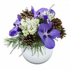 Hanukkah Flower Arrangements and Holiday Centerpieces