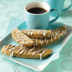 Gingerbread Biscotti from Land O'Lakes