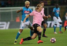 Palermo-Napoli, il film della partita