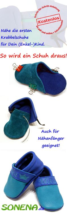 free tutorial – freebie – freehand by Sonena with patterns for the first leather – baby shoes / leather shoes – A great gift for baptism, for childbirth, or as a Christmas present. DIY – first leather baby booties / shoes – freebook Source by sonenadesign Leather Baby Shoes, Leather Slippers, Baby Shower Ballons, Baby Ballons, Diy Bebe, Diy Clothes Videos, Baby Boots, Baby Clothes Shops, Crochet Clothes
