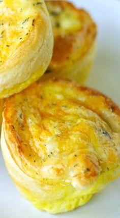 Crescent Breakfast Puffs | Crockpot Gourmet