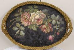 original wicker tray ~ C.Repasy
