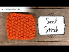 How to Knit the Seed Stitch - YouTube