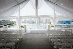 Vancouver Wedding Venue - Science World, waterfront, modern, outdoor spaces Vancouver Wedding Venue, Best Wedding Venues, Outdoor Wedding Venues, Wedding Events, Weddings, Wedding Bells, Wedding Ceremony, Wedding Images, Wedding Designs