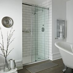 Sliding Door Enclosures - Shower Enclosures - Shop by type - Bathrooms | Fired Earth