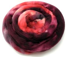 Bordello - Spinning Fiber - Hand Dyed Roving - Combed Top - Dyed to Order