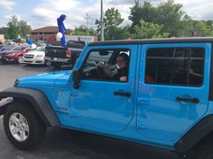 Steven Mutters found out his daughter had fallen head over heels for this '17 Jeep Wrangler Unlimited in Chief blue. So he came in and saw Sales consultant Charlie Bisang and look-ee who is going home in a new rig! Congratulations and thank you both for your continued patronage to Zimmer CDJR! www.zimmermotors.com