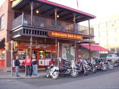 Syracuse's famous Dinosaur BBQ, widely considered one of the best barbeque restaurants in the country. They have a second location in Rochester.