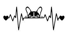 French Bulldog Tattoo, French Bulldog Art, Dog Tattoos, Cat Tattoo, Dog Transport, Angelic Symbols, Boston Terrier Art, Gifts For Veterinarians, Little Tattoos