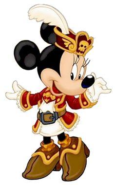Minnie the pirate.