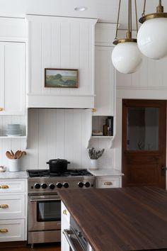 Our Farmhouse Kitchen Reveal! — The Grit and Polish classic Our Farmhouse Kitchen Reveal! — The Grit and Polish Classic White Kitchen, White Kitchen Decor, Home Decor Kitchen, Interior Design Kitchen, Kitchen Ideas, Kitchen Tips, Kitchen Inspiration, Kitchen Designs, Diy Kitchen