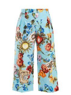 Carson striped silk wrap skirt | Diane Von Furstenberg | MATCHESFASHION.COM US