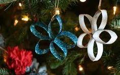 Resultado de imagem para decoração de ano novo com reciclagem