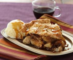 Spiced Apple and Fig Pie