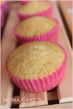 receta cupcakes vainilla