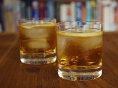 Friday Happy Hour: Rusty Nail Cocktail for Girls - The Weary Chef
