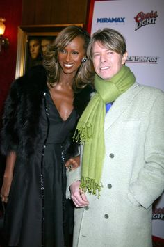 David Bowie and Iman: A Look Back at One of the Greatest Romances of All Time