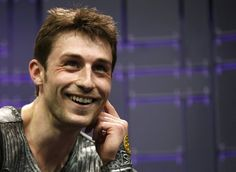 Brian Joubert of France watches his score after his men's free program at the ISU World Figure Skating Championships in London Brian Joubert, World Figure Skating Championships, Ice Skating, Lp, Skate, Canada, Passion, France, London