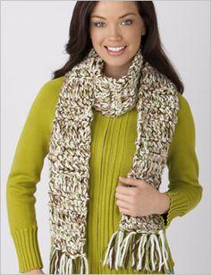Quick Crochet Scarf