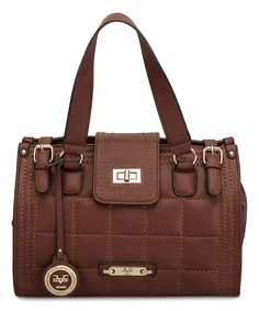 Another great find on #zulily! Versace 19V69 Brown Sophie Satchel by Versace 19V69 #zulilyfinds