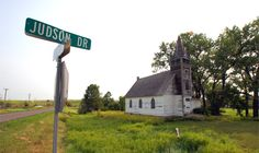 This is Judson, North Dakota, a small town in Morton County, southwest of Mandan. I discovered this church one day while I was messing around with Google Street View, so we made plans to stop for a visit. Judson was the first stop on a trip in which we had planned to go all the …