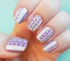 Lilac Tribal Pattern :)