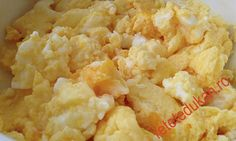 Jumari de oua cu branza Dukan