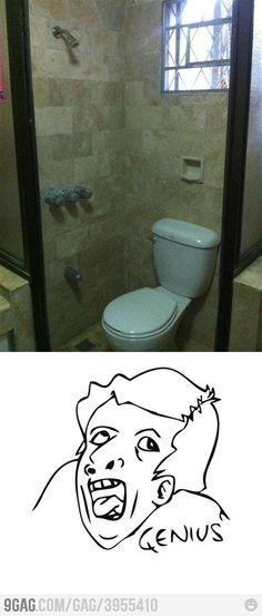 Bathroom level: Genius