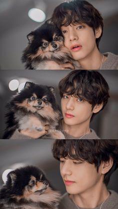 Kim Taehyung and Yeontan Taehyung Selca, Bts Jimin, Bts Lockscreen, Foto Bts, Daegu, Kpop, V Bts Cute, Vkook Memes, V Bts Wallpaper