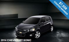 Deal of the Week: 2014 Chevrolet Sonic in NJ with $5,008 Off MSRP!!! Hurry & Save Today!