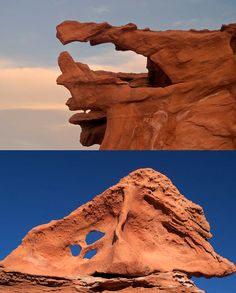 Little Finland is known for its twisting, surrealistic sandstone formations. PS it is in Nevada!