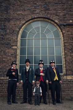 steampunk funfair wedding at a museum (8)