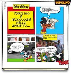Creare fumetti in classe con Topolino
